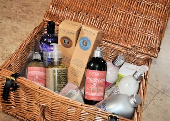 Winning Basket from L'Occitane