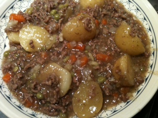 Slow Cooked Mince & Tatties