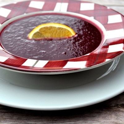 Soup Maker Recipe:  Beetroot and Orange Soup Recipe