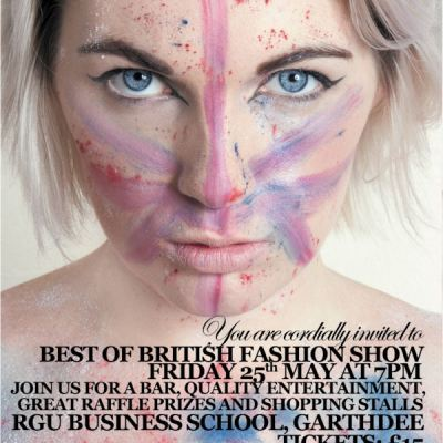 Robert Gordon University, Aberdeen.  Best of British Show in aid of The ARCHIE Foundation – 25th May 2012