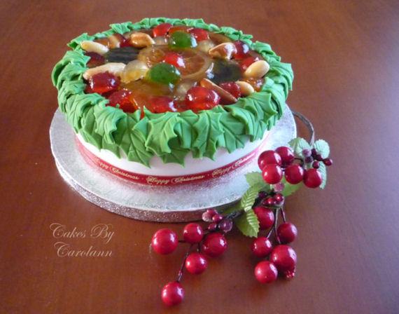 Carol's Caribbean Christmas Cake