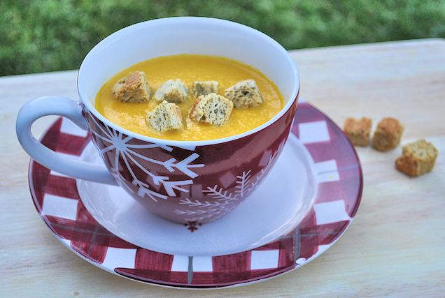 soup maker recipe carrot and coriander soup