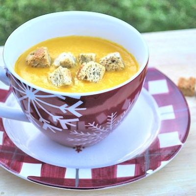 Soup Maker Recipe:  Carrot and Coriander Soup