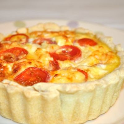 Cheese and Tomato Quiche Recipe, with Maw Broon's Sauces