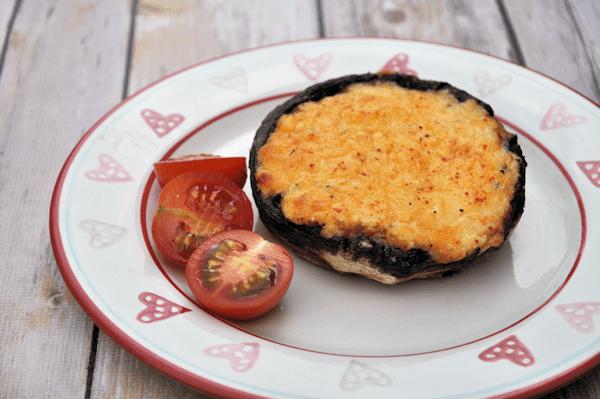 Stuffed Mushrooms: Garlic and Cheese