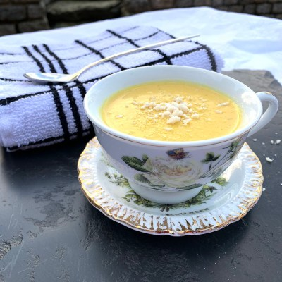 Soupmaker: Cream of Carrot and Turmeric Soup