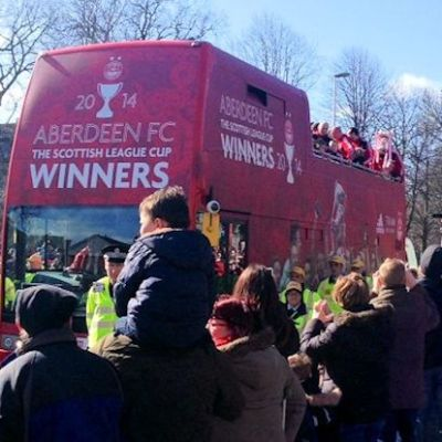 AFC – Scottish League Cup Winners 2014 – The Sheep Are On Fire