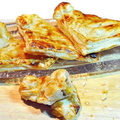 Simple Fruit Pasty Recipe