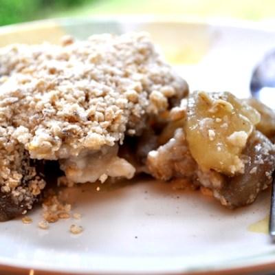 No Weigh Pear Crumble Recipe