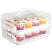 Tesco Vonshef Snap and Stack Cupcake Storage