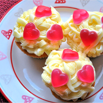 Simple Valentines Day Cupcakes Recipe