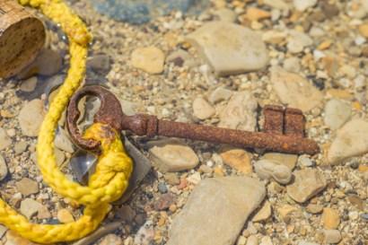 Vintage Key in Sea