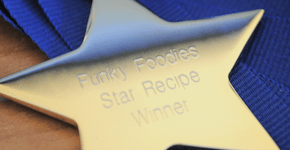 Funky Foodies July (Month 2) & WINNER for June 2012