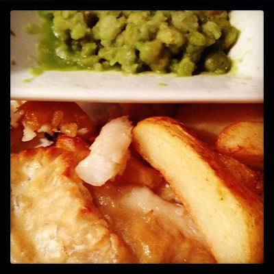 Guest Recipe: Vodka and Tonic Battered Fish & Wedges