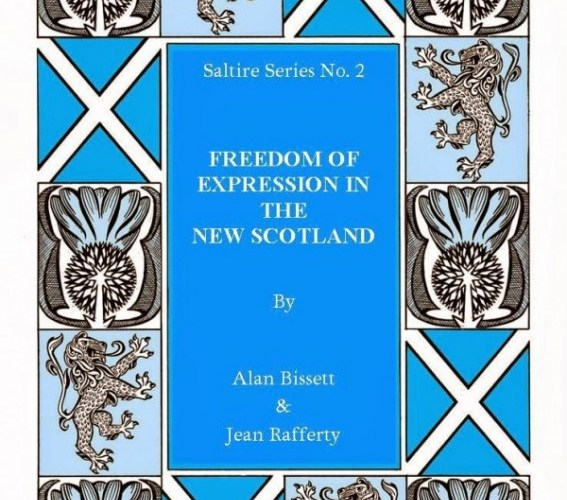 Cover of book by Alan Bissett and Jean Rafferty