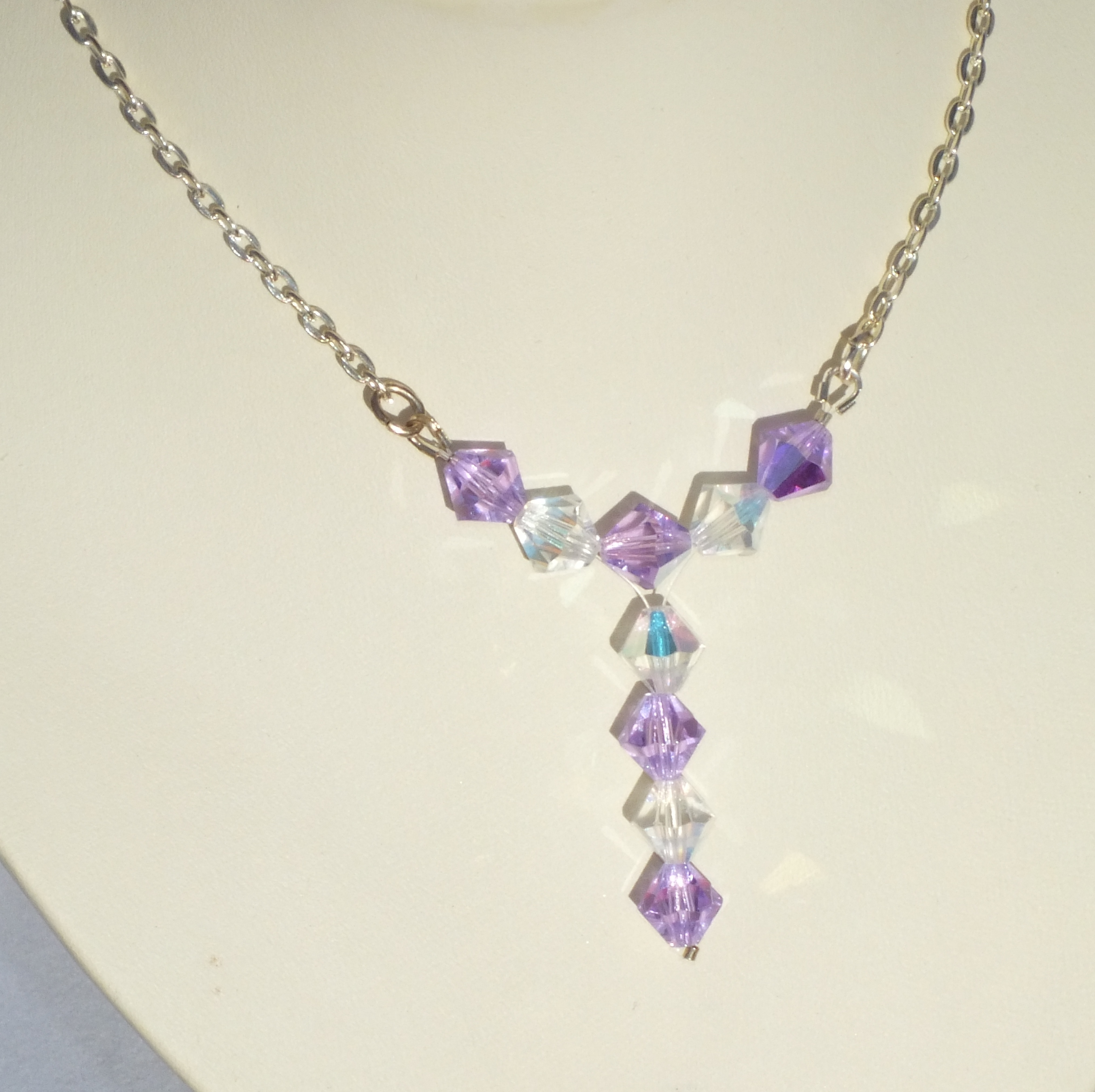 bmjs collection swarovski bridesmaid cubic zirconia product necklace davi jewelry img backdrop crystal davina solitaire