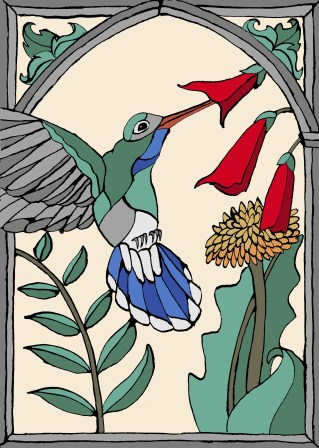 Hummingbird. Scott Keenan, 2014