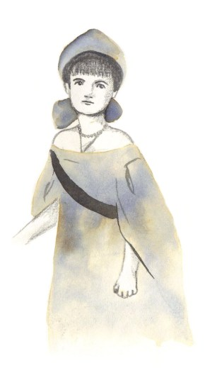 Anastasia Court Dress. Scott Keenan, 2015