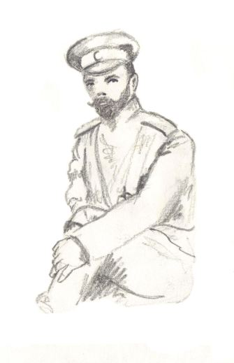 Nicholas on the Shtandart. Scott Keenan, 2015