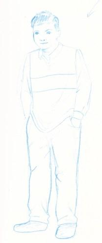 Character Blue 3. Scott Keenan, 2016