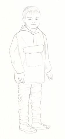 Character Sketch 1 (Alternate) Scott Keenan, 2016