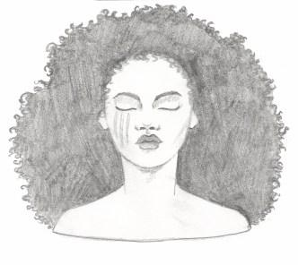 Winter Head Sketch. Scott Keenan, 2016