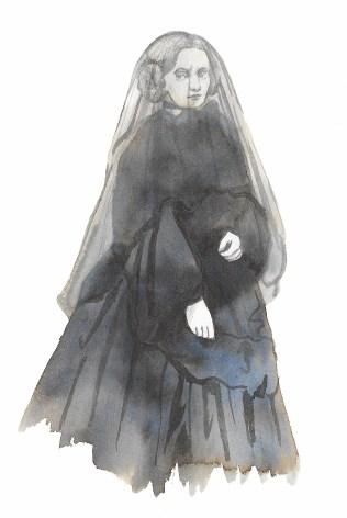 Victorian Mourners I. Scott Keenan 2016