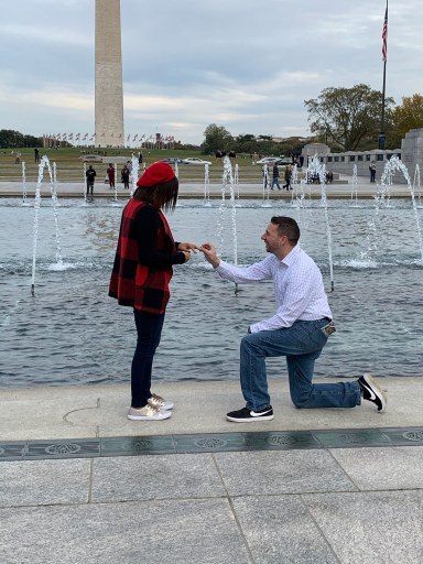 Proposing in Washington, D.C.