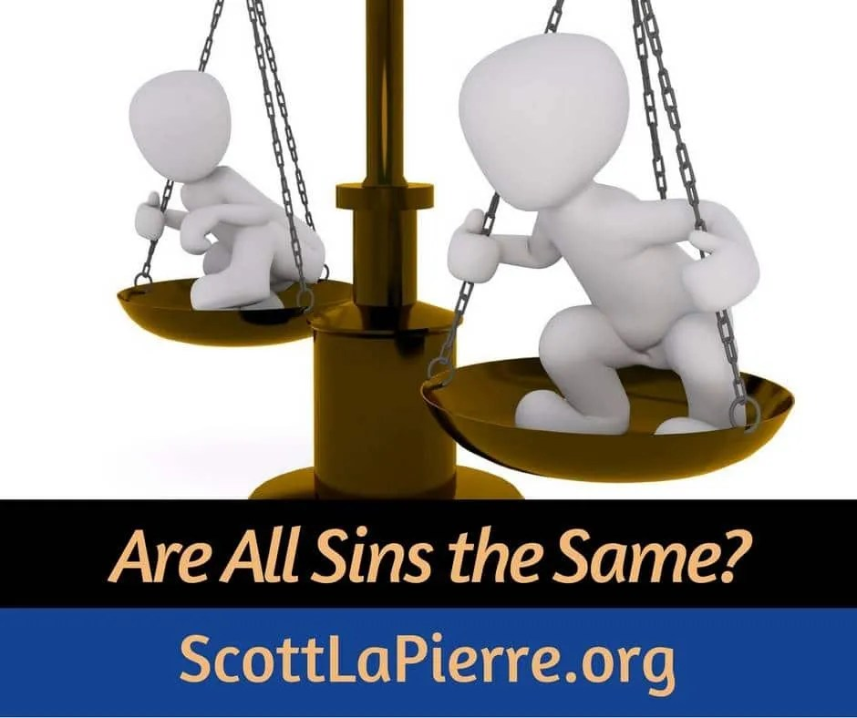 Are All Sins the Same?
