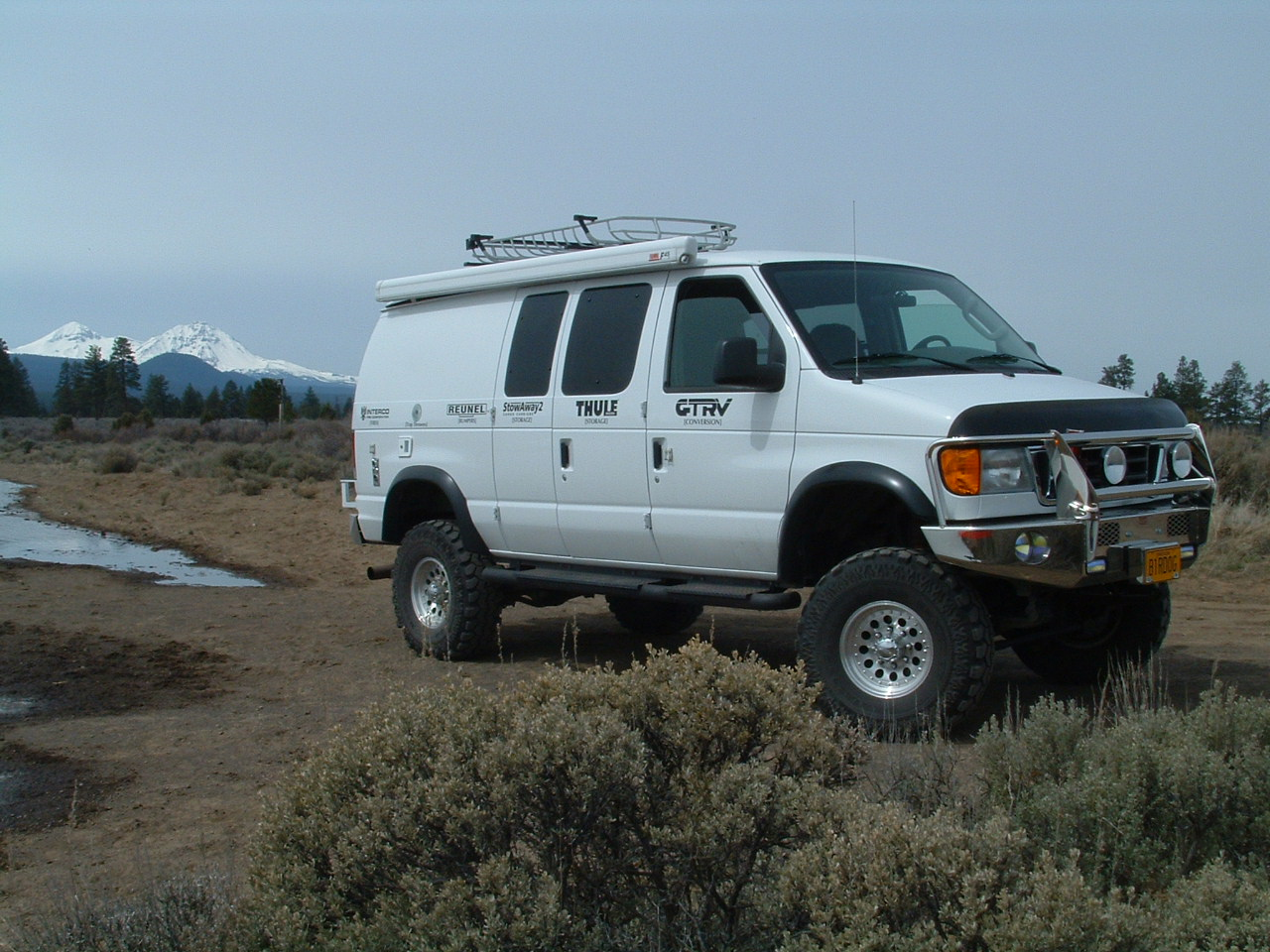 Watch for the rig on the Awesome Upland Road Trip 2.0