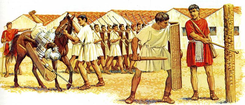Esercito romano: come era formato e organizzato - Studia ...