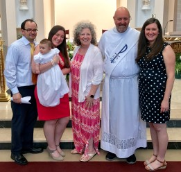 All of us at baptism - 1