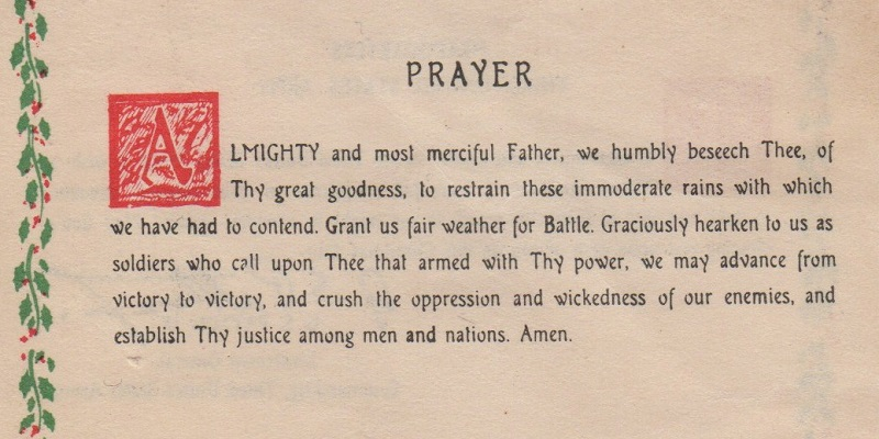 Image result for patton's prayer