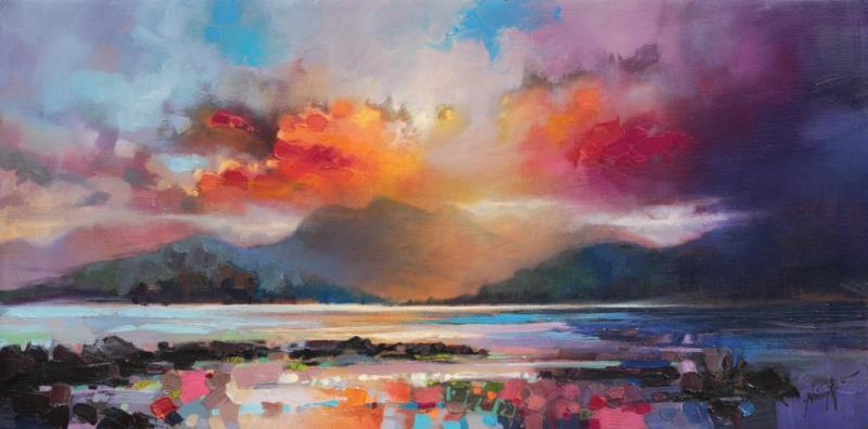 View From Armadale, Isle of Skye painting by Scott Naismith