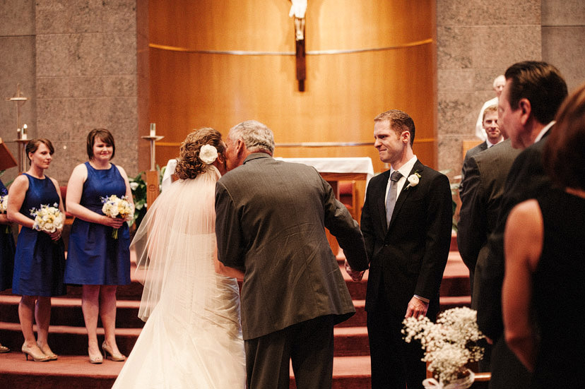 Michael and Theresa's wedding in Columbia, Missouri.