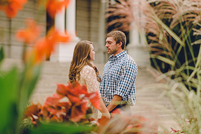 Mizzou Campus Engagement Photos  |  Melissa + Chad