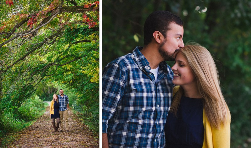 Columbia, Missouri Engagement  |  Emily + Victor