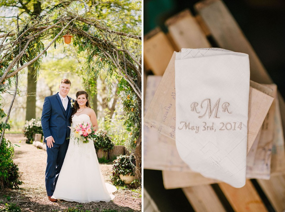 Becky & Ryan's Elegant Rustic Wedding at Blue Bell Farm