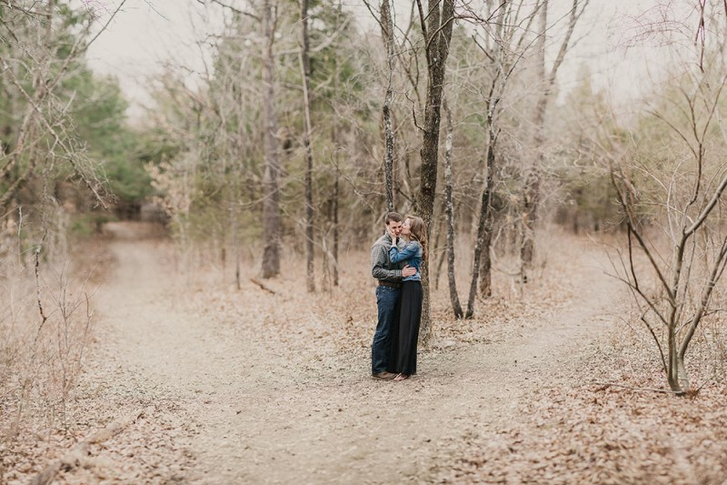 Colin + Jessica's Early Spring Engagement Photographs