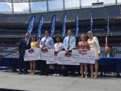 Salute the Stars scholarship recipients