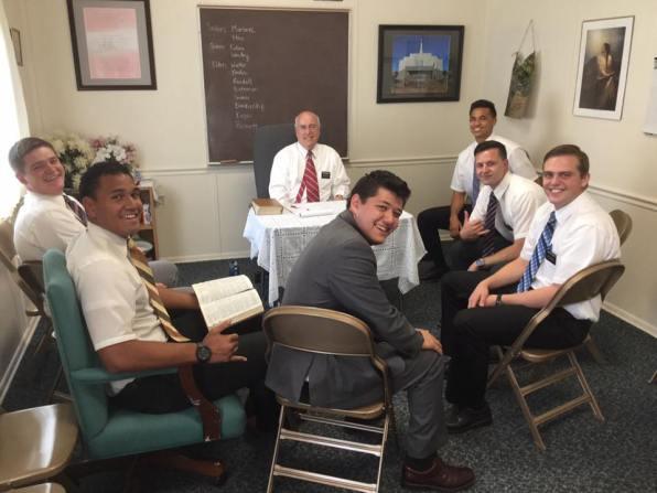 Ft. Apache Elders - Elders Kendall, Kaufusi, Walker, Bateman, Bennett and Kapisi