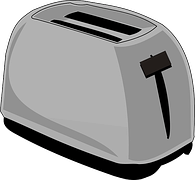 drawing of a toaster