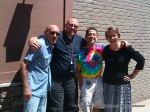 Picture of Dean, Scott, Martin, and Bea