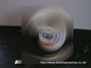"""Blurred image of the picture at """"Shoot Up or Put Up"""" (another diabetes blog)"""