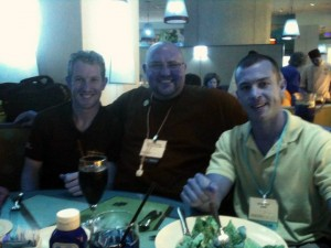 Picture of Charlie Kimball, Scott Johnson, & Andy Bell