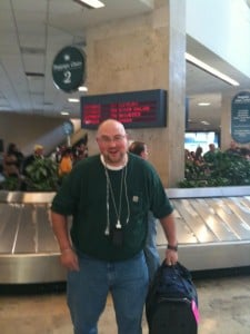 Scott at the airport
