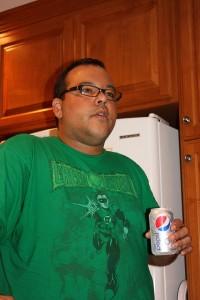 George & Green Lantern T-Shirt