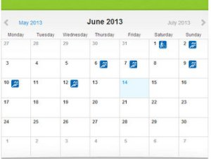 Training days in June