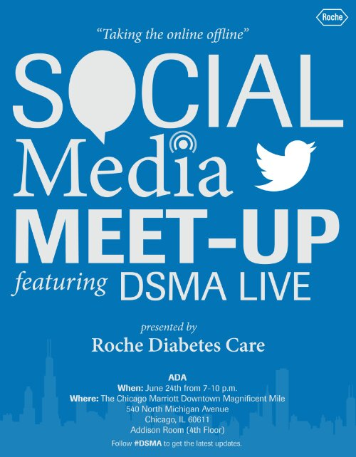 Join the DSMA Live crew (except for George) for a Social Media Meet-Up!