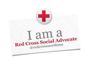 Red Cross Advocate Badge